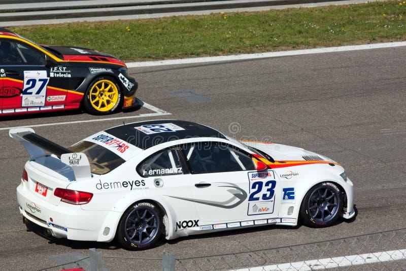 Raceauto in de Verzameling van Monza royalty-vrije stock foto