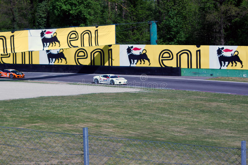 Raceauto in de Verzameling van Monza stock afbeeldingen