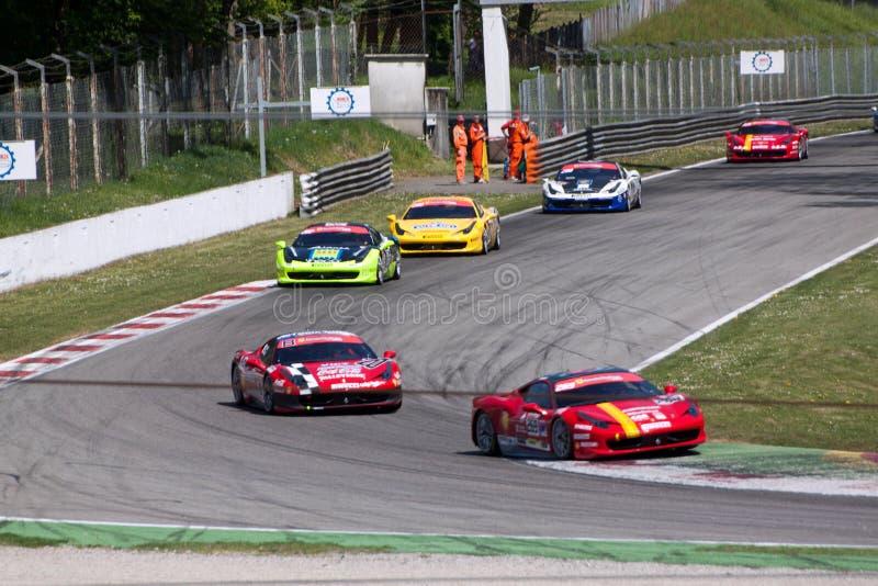 Raceauto in de Verzameling van Monza royalty-vrije stock afbeelding