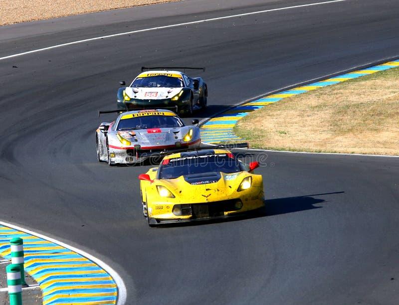 Raceauto's royalty-vrije stock afbeelding
