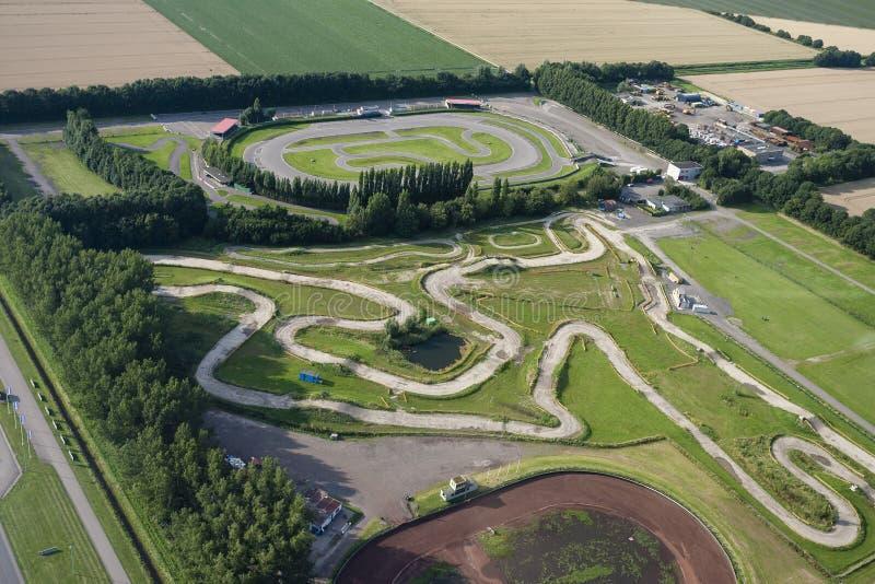 Racebaan, Race course royalty free stock image