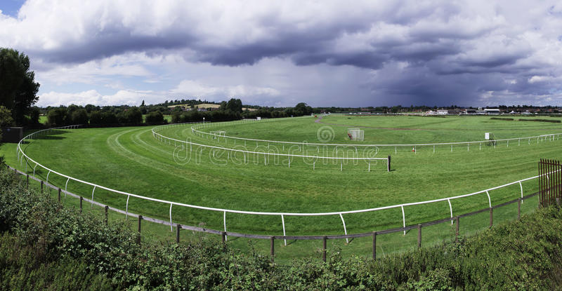 Racecourse. The racecourse at stratford upon avon in warwickshire royalty free stock images