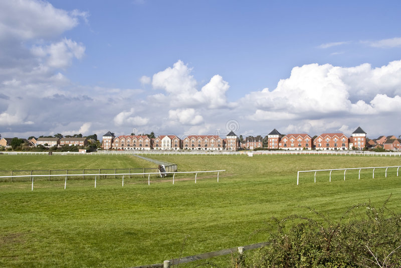 Download Racecourse stock image. Image of properties, curve, avon - 3271875