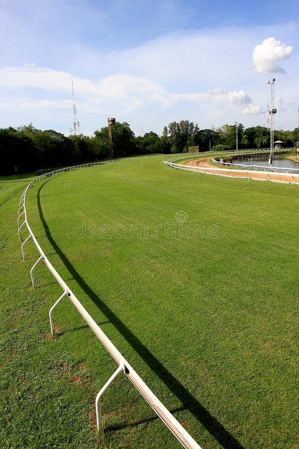 Racecourse that competition. In Thailand stock images
