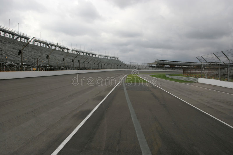 Racecourse de Indy fotografia de stock royalty free