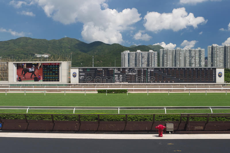 Racecourse do estanho de Sha, Hong Kong fotografia de stock royalty free
