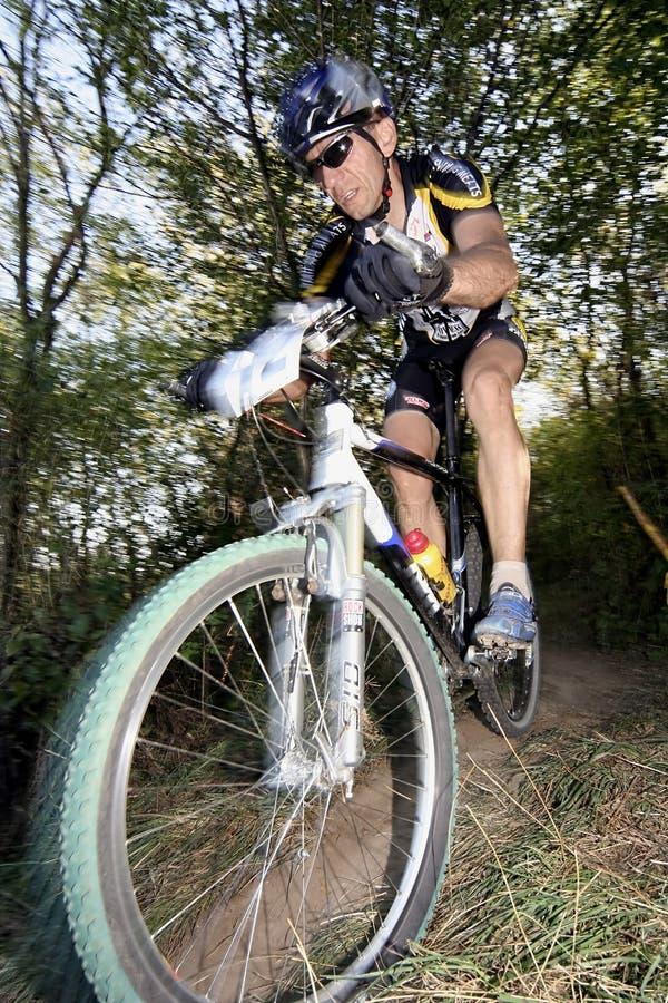 racer roweru zdjęcie stock