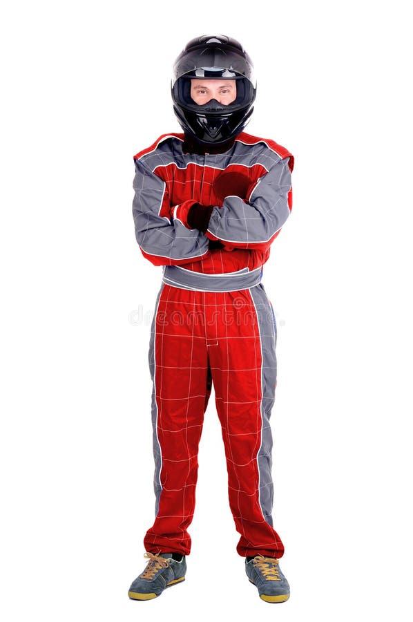 Racerbilsförare arkivfoton