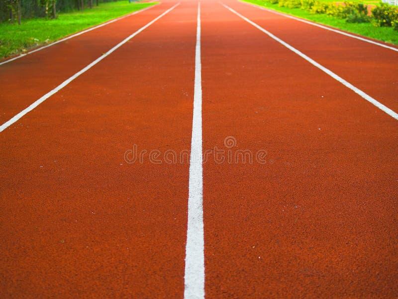 racespår arkivfoto