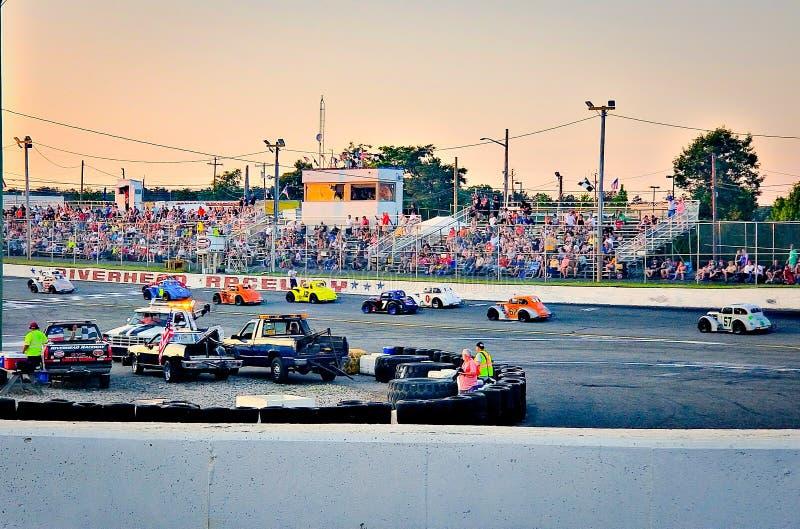 raceway стоковая фотография rf