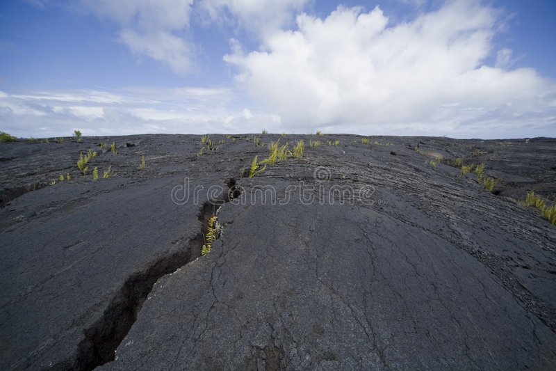 Rachadura 9785 da lava imagem de stock royalty free