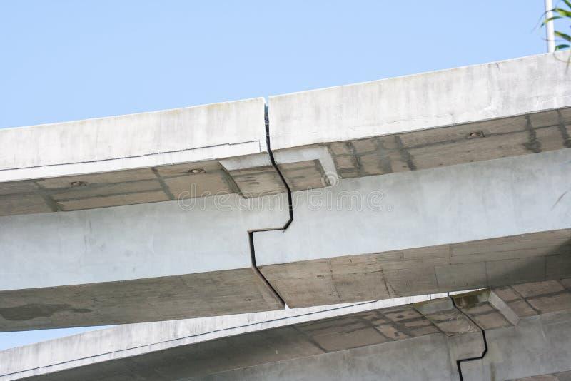 Download Rachaduras Concretas Da Passagem Superior Imagem de Stock - Imagem de elevated, arquitetura: 26515817