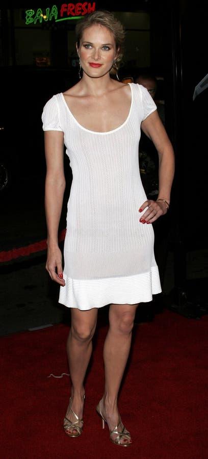 Rachel Blanchard imagem de stock royalty free