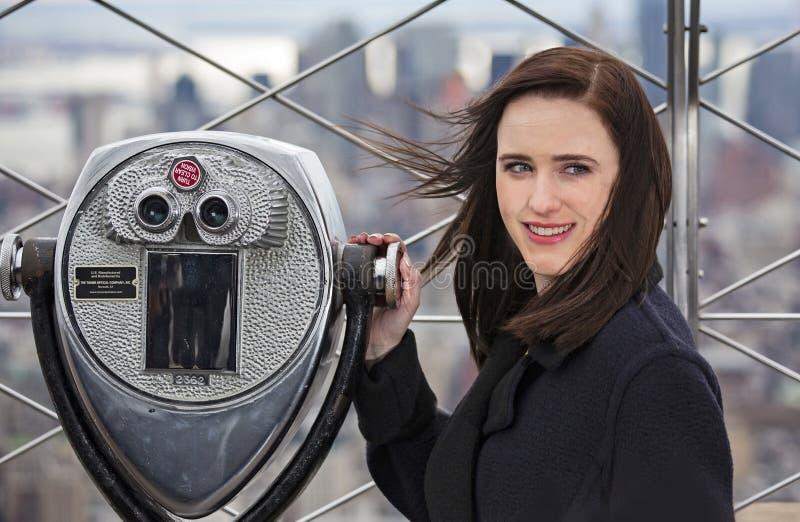 Rachel Brosnahan fotografie stock