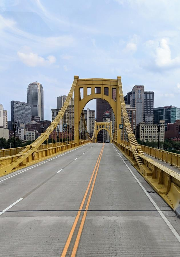 Rachel Carson Bridge imagem de stock