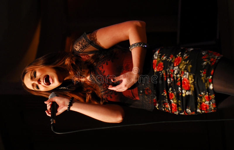 Rachel Reinert de Gloriana foto de stock