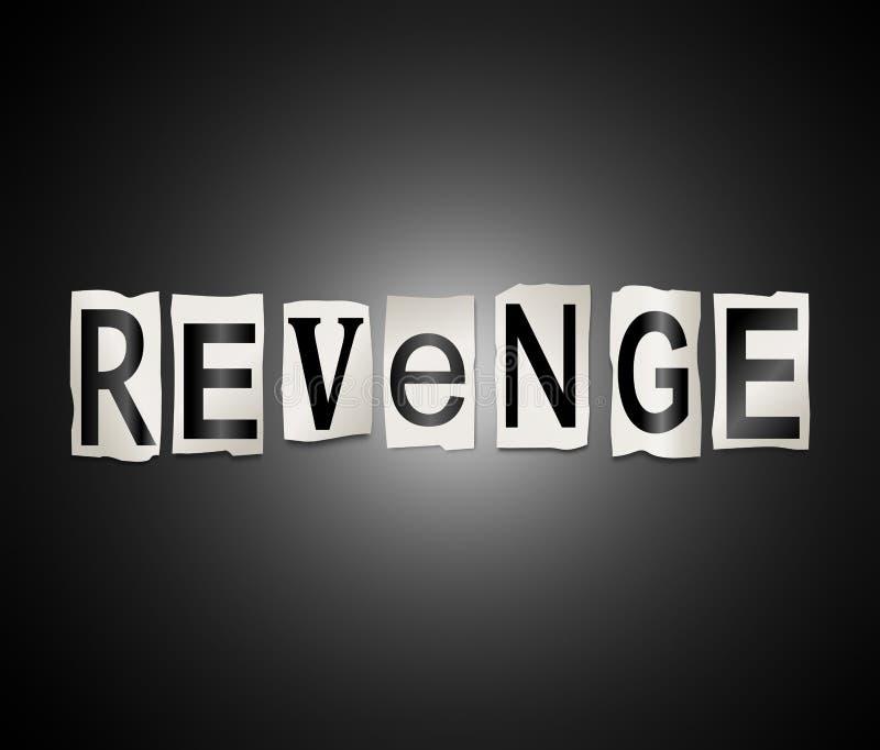 Download Rachewortkonzept stock abbildung. Illustration von vengeance - 96932560