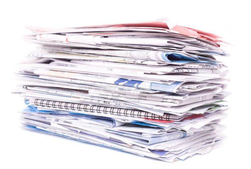 rachunków dokumentów papiery zdjęcia stock
