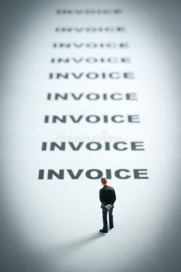 Rachunków rachunków rachunki obraz stock