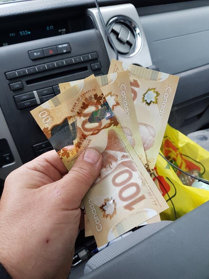 rachunki 100 dolar?w zdjęcie royalty free