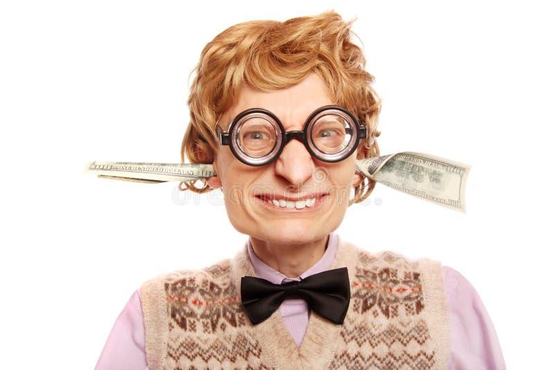 rachunki przychodzący mój dolarowego ucho mój obraz royalty free