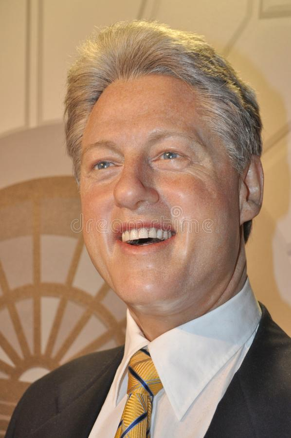 rachunku Clinton byłego prezydenta stan jednoczący obrazy royalty free