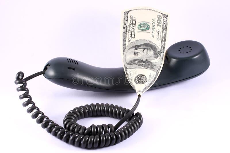 rachunku telefon obraz stock