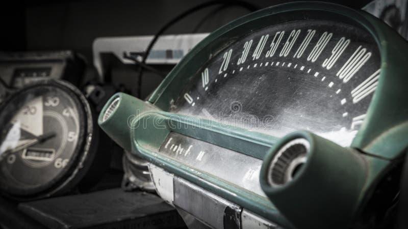 Racimo del indicador del camión del vintage foto de archivo libre de regalías