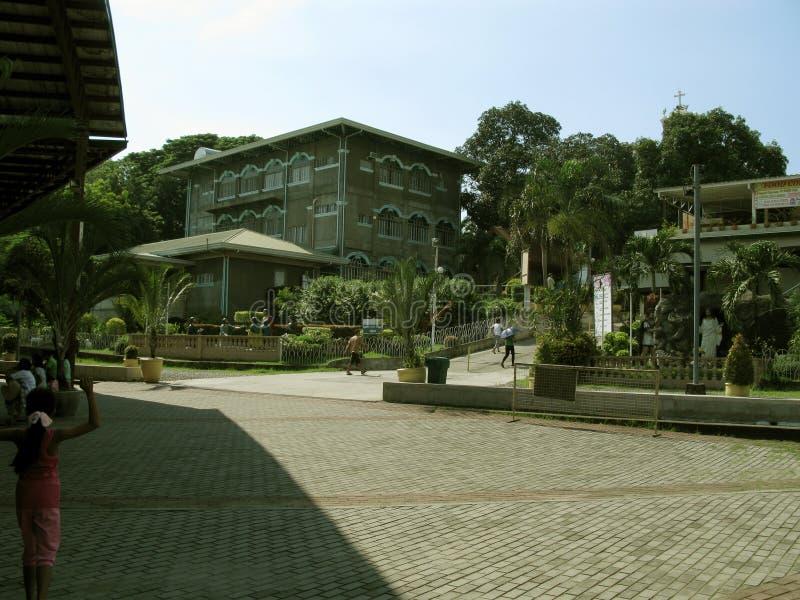 Racine à l'église principale, tombeau national de la pitié divine dans Marilao, Bulacan images libres de droits