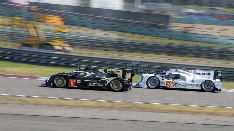 racing royalty-vrije stock foto's