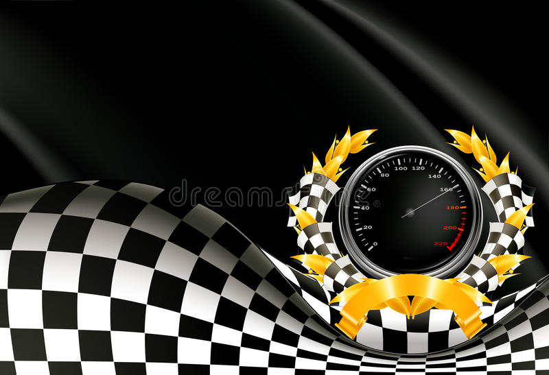 Racing Background royalty free illustration