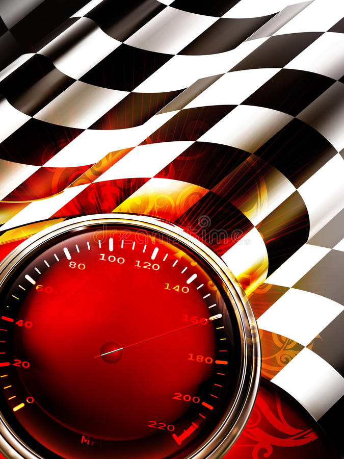 Free Racing Background Vertical Royalty Free Stock Photo - 20551805