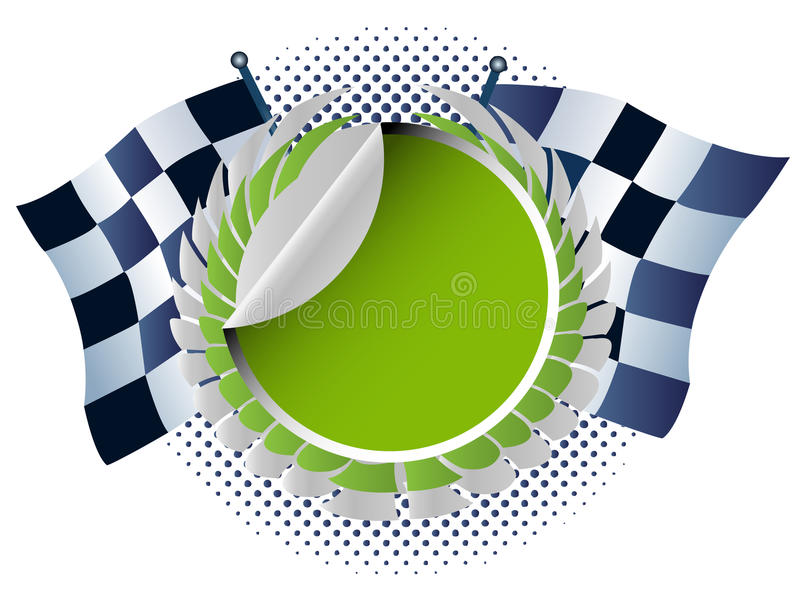 Racing Car Royalty Free Stock Images