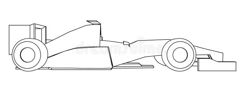 Racing Car Draw