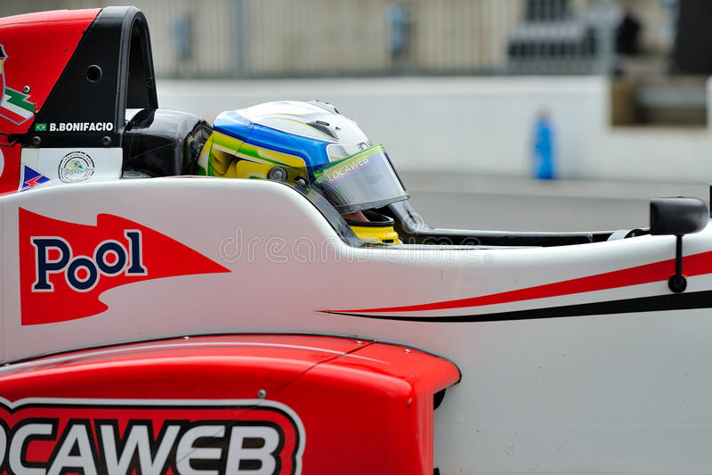 Download Racing Car Driver In Monza Race Track Editorial Stock Image - Image: 27090194