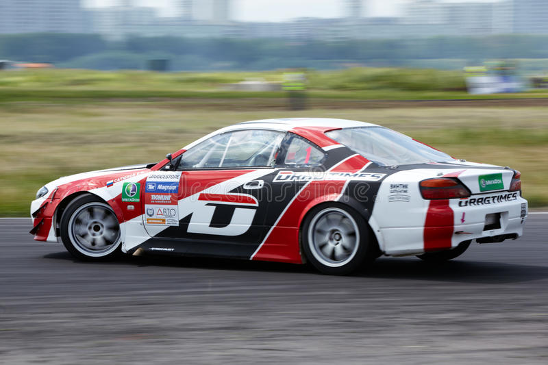 Download Racing Car Of E.Satyukov On Track In 3-d Tour Editorial Image - Image: 25446765