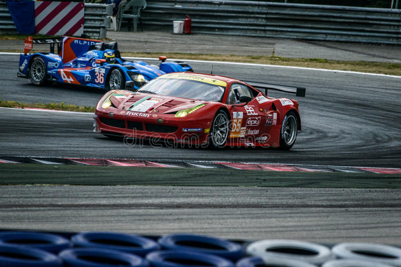 Racing car royalty free stock photography