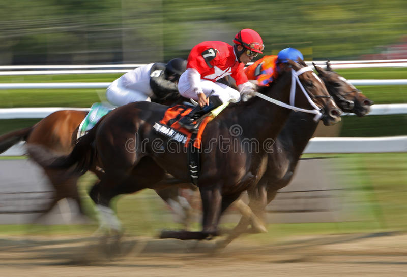 Download Racing Down The Home Stretch Editorial Image - Image: 26447680