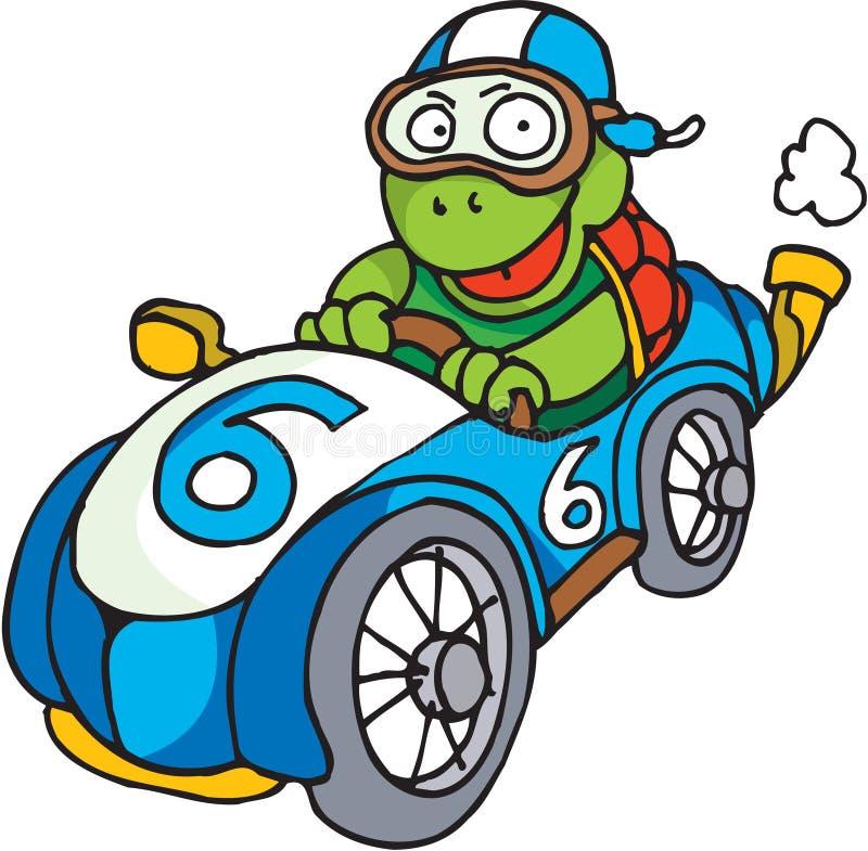 Racing Driver Tortoise Royalty Free Stock Photo