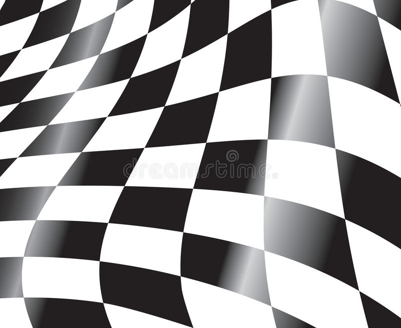Racing flag stock illustration