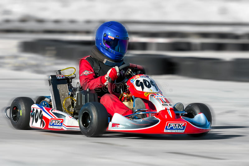 Download Racing Go Kart editorial stock photo. Image of group - 35610398