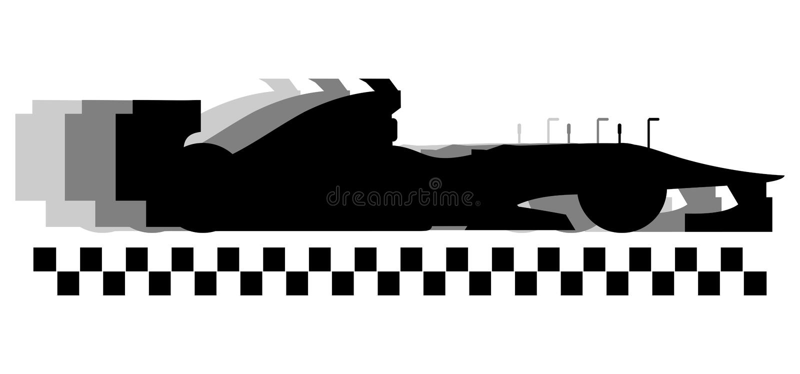 Racing speed vector illustration