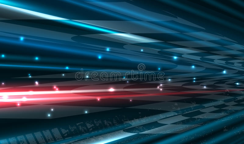 Racing square background. Vector abstraction in racing car track
