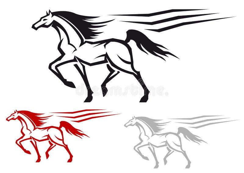 Download Racing stallion stock vector. Illustration of equestrian - 24449218