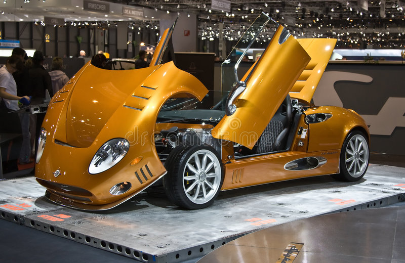 Download Racing supercar editorial photo. Image of expo, engine - 8533781