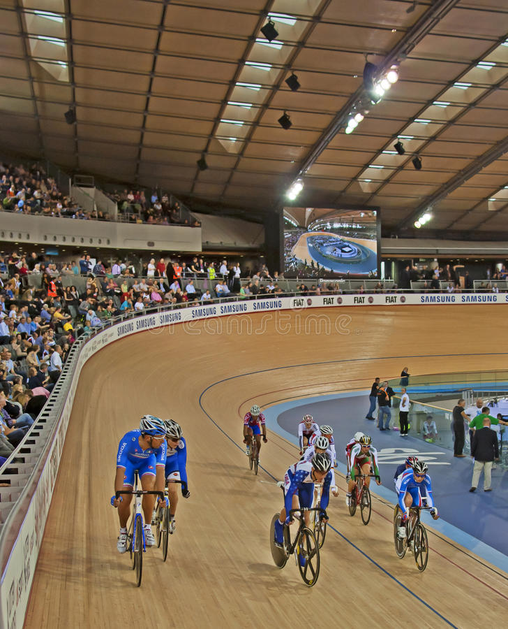 Download Racing at the Velodrome editorial image. Image of group - 23419060