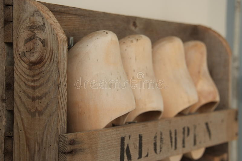 Rack of Clogs royalty free stock images