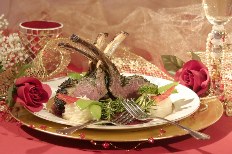 Download Rack of Lamb stock photo. Image of meat, fine, meal, decadent - 74066