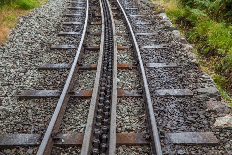 Download Rack And Pinion Railway On Snowdon Stock Image - Image: 33686263