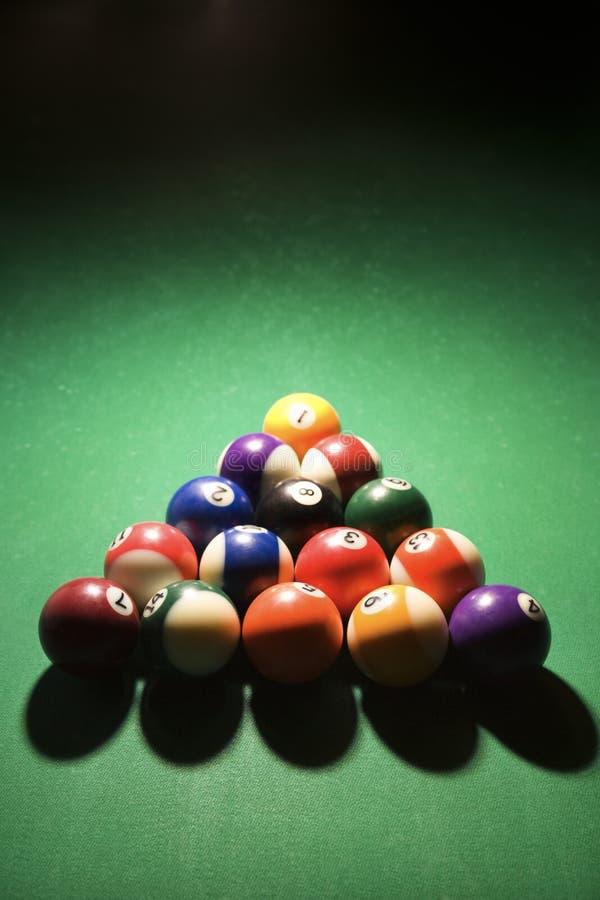 Free Racked Pool Balls Royalty Free Stock Photo - 12676315
